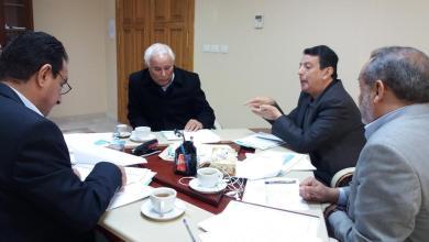 اجتماع مصغر لمجلس التخطيط الوطني