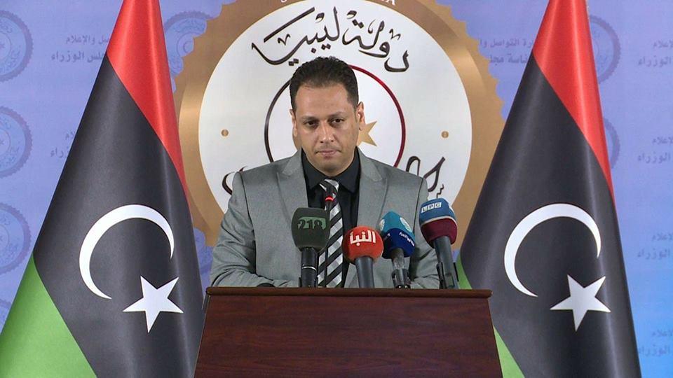 الناطق الرسمي باسم رئيس المجلس الرئاسي محمد السلاك