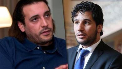 عضو مجلس النواب مصباح دومة وهانيبال القذافي