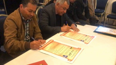اتفاقية شراكة بين نادي الطلائع برقدالين ونادي أمل جربة التونسي