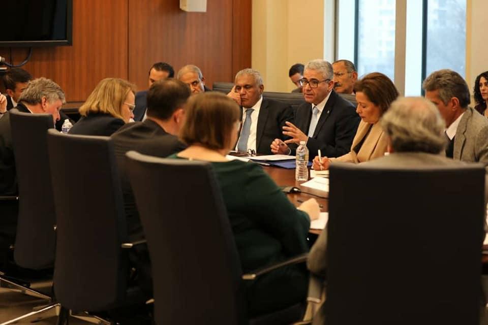 باشاغا يبحث سبل تعزيز التعاون الأمني مع الولايات المتحدة