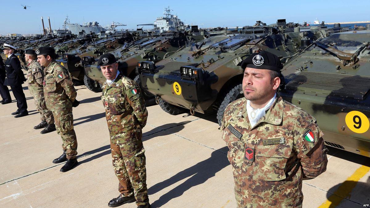 قوات عسكرية إيطالية - صور أرشيفية