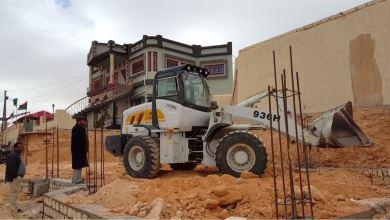 أولى خطوات بناء مخزن أدوية في كاباو بتبرعات المواطنين