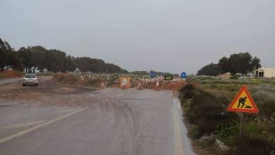 استمرار أعمال صيانة الساحلي في سرت
