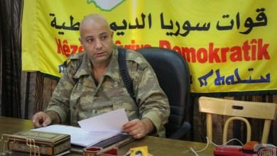 """المتحدثباسم قوات سوريا الديمقراطية """"قسد"""""""