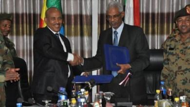 توقيع اتفاقيات عسكرية بين أديس أبابا والخرطوم
