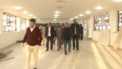جولة تفقدية في ملعب طرابلس الدولي