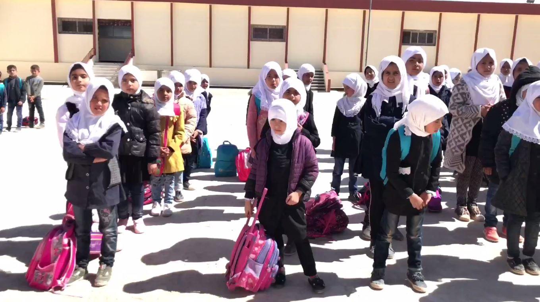 إعادة افتتاح مدرسة 10 مارس في درنة