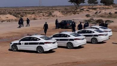 دوريات في العسة لتأمين الحدود الليبية مع تونس