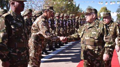 قائد الجيش الجزائري ونائب وزير الدفاع الجنرال قايد صالح