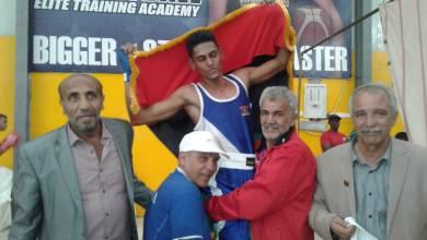 الملاكم الليبي عبد الباسط عبد المجيد