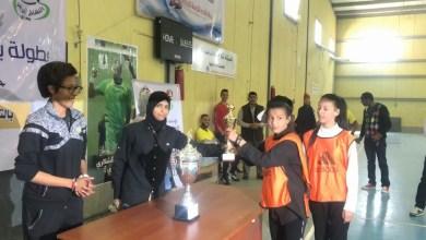 ختام بطولة بنغازي النسائية لكرة القدم- بنغازي.