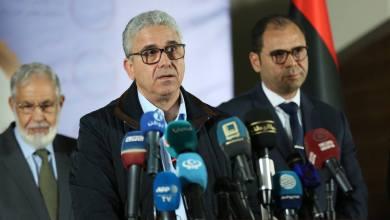 وزير الداخلية المفوض فتحي باشاغا