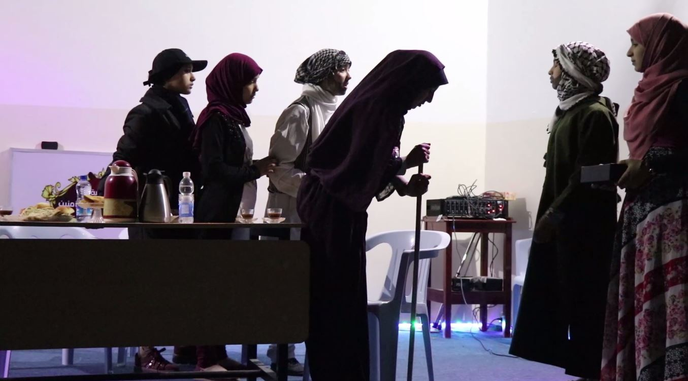 مسابقة المسرح المدرسي في زليتن