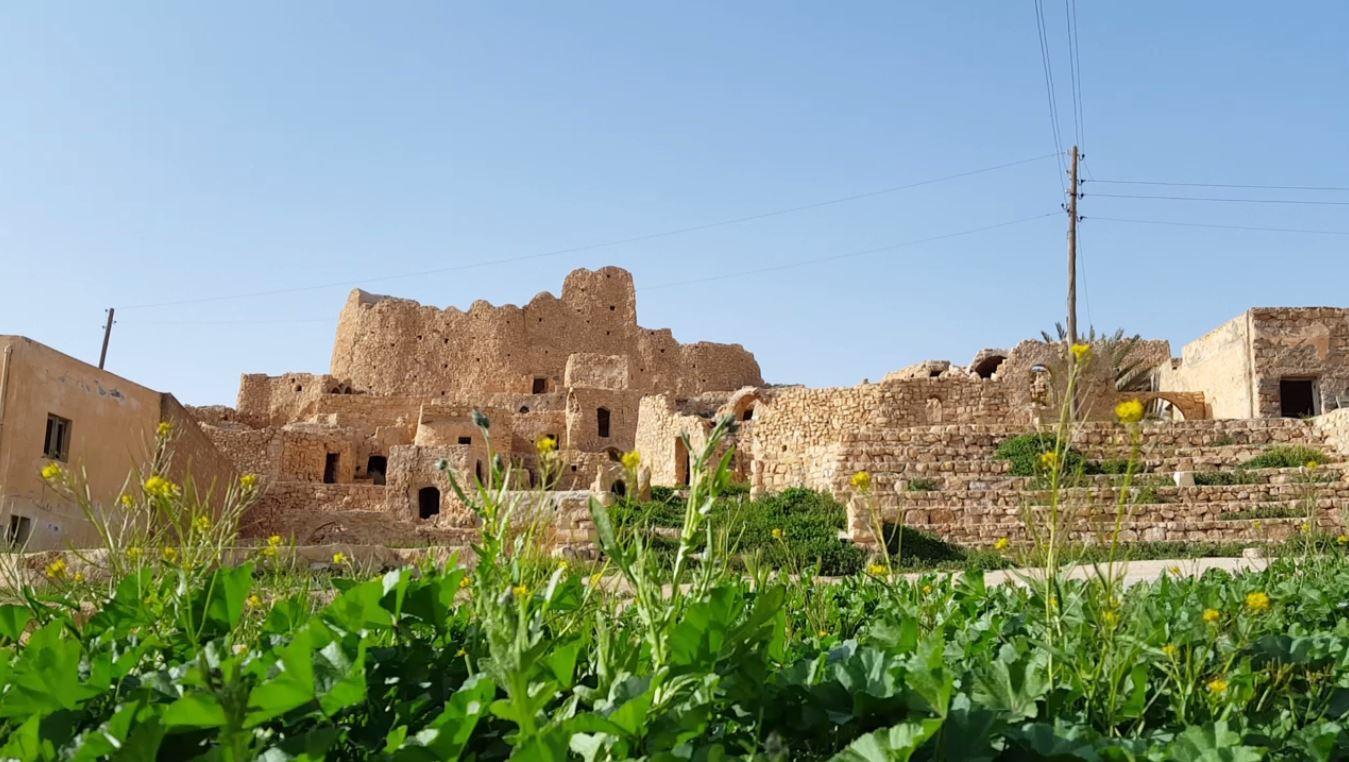 قصر كاباو العريق ،يسوره الربيع