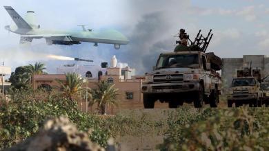الجيش الوطني - طرابلس - الدرونز