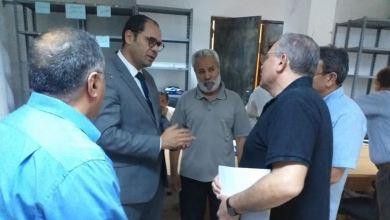وزير التعليم بحكومة الوفاق يزور المركز الوطني للامتحانات