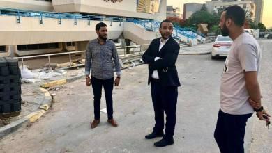 وكيل وزارة صحة الوفاق يتفقد مشروع رفع السعة السريرية لمستشفى العيون
