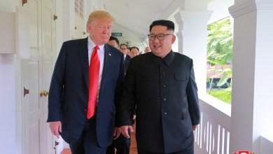 الرئيس الأميركي دونالد ترامب ورئيس كوريا الشمالية كيم جونغ أون