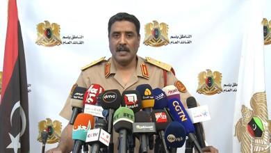 الناطق باسم الجيش الوطني اللواء أحمد المسماري