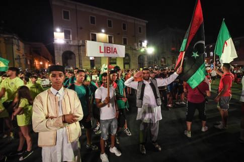 تكريم علي البوسيفي - إيطاليا (2)