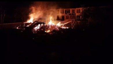 حريق في الجولان المحتل يتزامن مع غارات لسلاح الجو الاسرائيلي على جنوبي سوريا