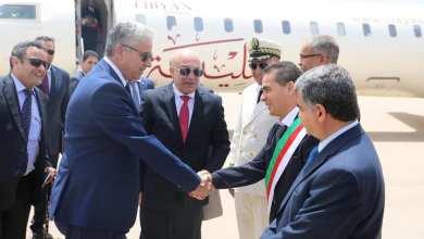 وزير داخلية الوفاق فتحي باش آغا يصل الجزائر ويلتقي وزير داخليتها صلاح الدين دحمون