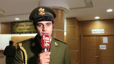 آمر الكتيبة 192 مشاة التابعة للجيش الوطني النقيب محمد ابسيط