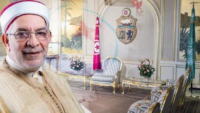 قصر قرطاج - حزب النهضة - عبدالفتاح مورو