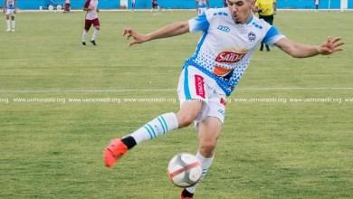 مهاجم فريق الوحدة محمد الغنيمي