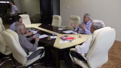 الاجتماع الثاني للجنة التسييرية لشركة الخطوط الجوية الليبية في بنغازي