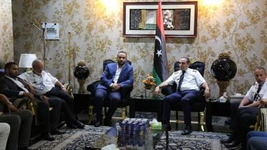 لقاء وكيل عام صحة الوفاق مع رئيس جهاز الإسعاف الطائر