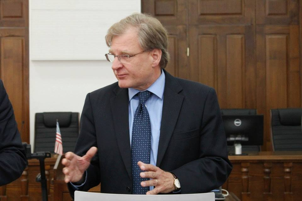سفير الولايات المتحدة لدى ليبيا ريتشارد نورلاند