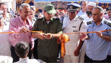 افتتاح مركز شرطة الرقطة في بلدية سلوق/قمينس