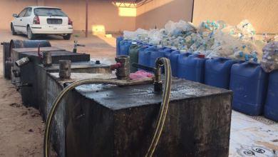 تحري صبراتة يداهم مصنع خمور محلية في صرمان