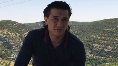 """الناشط المدني """"أحمد الكوافي"""" - الصورة من صفحة الفقيد"""