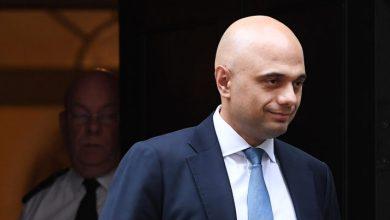 وزير المالية في الحكومة البريطانية ساجد جاويد