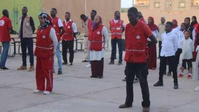 غرفة الطوارئ بالهلال الأحمر غات ترفع حالة التأهب
