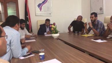 المجلس البلدي صبراتة يجتمع مع المختصين لبحث سبل التخلص من الخلفات الطبية