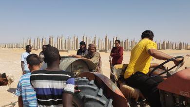 البوانيس تواصل حملتها بالتعاون مع مكتب المياه والحرس البلدي