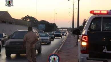 أمن بنغازي يعمل على تركيب أجهزة ضبط السرعة