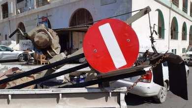 بوالخطابية يطالب أهالي طبرق المحافظة على إشارات المرور