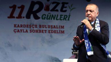 أردوغان: دعونا نرمي السجائر ونشرب شاي ريزي