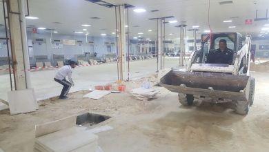 تحويرات وصيانة لمرافق مطار معيتيقة في طرابلس