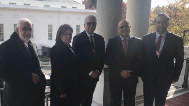 باشاغا و سيالة يلتقيا فيكتوريا كوتس مساعدة مستشار الأمن القومي الأميركي