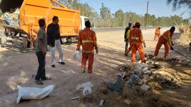 بلدية وادي البوانيس تشهد حملة نظافة واسعة