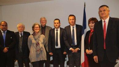 الحويج يناقش مع أعضاء الجمعية الوطنية الفرنسية الأوضاع في ليبيا