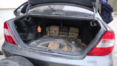 20 حقيبة متفجرة مصنعة من ألغام الشريط الحدودي تُضبط في البيضاء