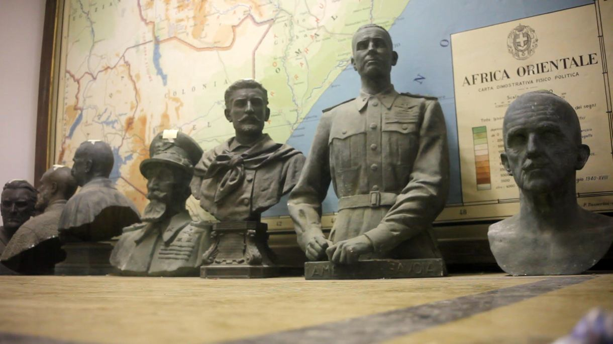 تماثيل لضباط إيطاليين في طرابلس بمتحف روما