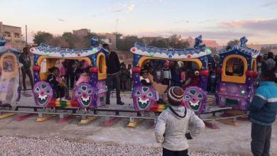 افتتاح أول ملاهي للأطفال في مدينة غات